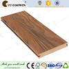 Mixed color plastic composite ipe wood decking solid