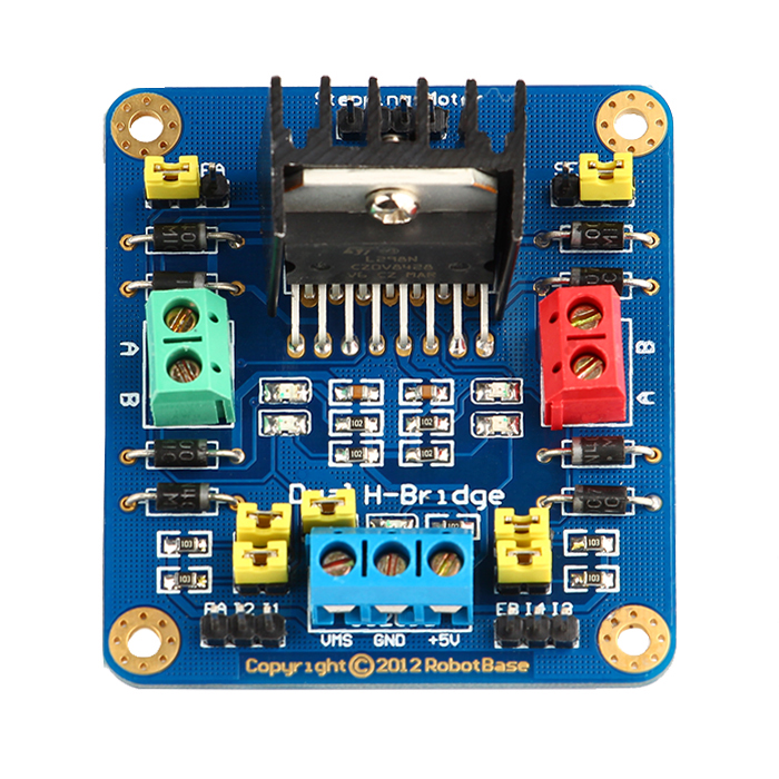 Arduino 4WD Platform Electronic Control Part Electronic Driving Kit Intelligent Vehicle Control Set
