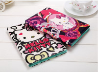 In Stock Cartoon style pu leather stand flip cover case for ipad 2/3/4/5/6 ipad mini 1/2/3/4,For hello kitty cover for ipad