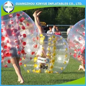 High quality giant inflatable belly bumper ball for adults