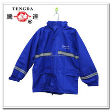reflectorized nylon rainsuits for scooder