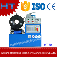 terminal hydraulic hose crimping machine