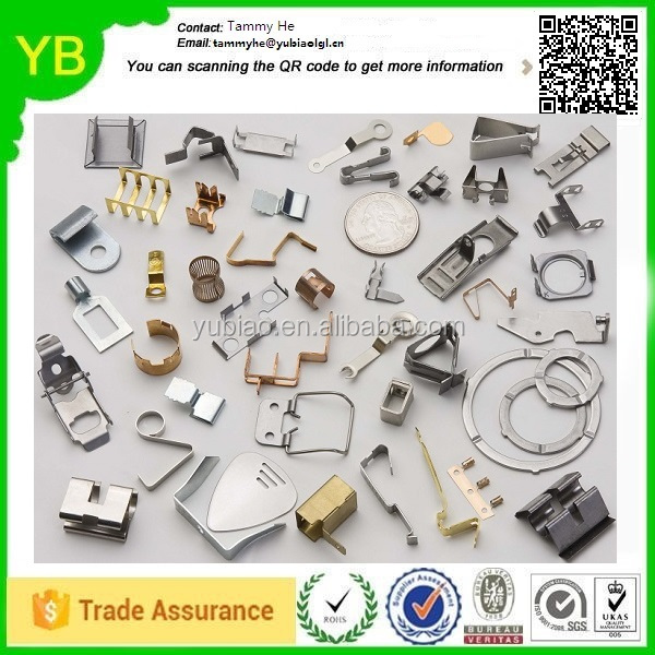 2016 China Stamping Mobile Headphone Hardware Components