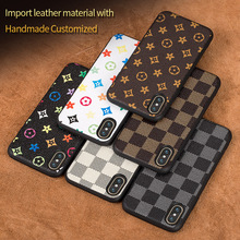 Factory OEM Wholesale Fashion Creative Case For iPhone 8 PU Leather Full Body Protective Phone Case Back Cover