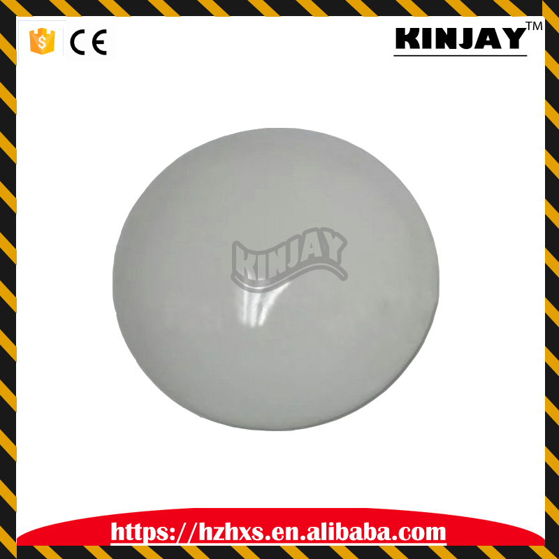 diameter 10cm white ceramic stud reflective security road spikes for road safety