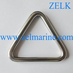 Rigging Hardware Stainless Steel Welding Triangle Ring