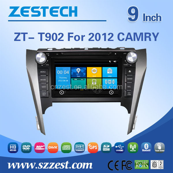 For Toyota Camry 2012 Car radio player with Pure android system car navigation, car audio, RDS ,GPS,WIFI,3G,support OBD
