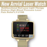 2016 LEAWELL New Arrival Hot sale digital high blood pressure laser therapy watch