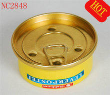 small round tin can for food&special lid small round tin can for food