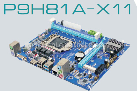 LGA1150 socket Intel H81 Micro ATX Motherboard With 1*VGA,1*HDMI,1*COM,1*LAN