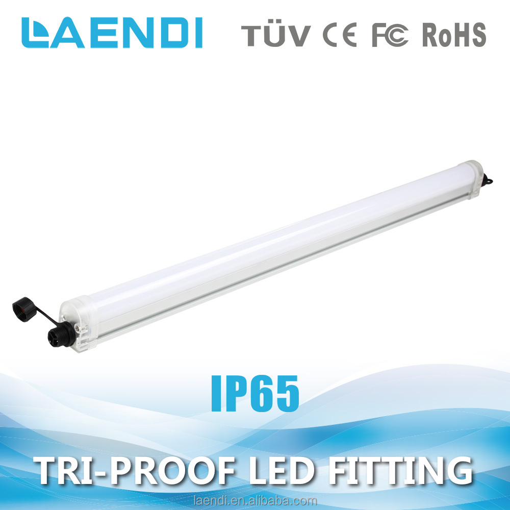 Customized luminous flexiable use led tri-proof light with motion sensor and dimmer