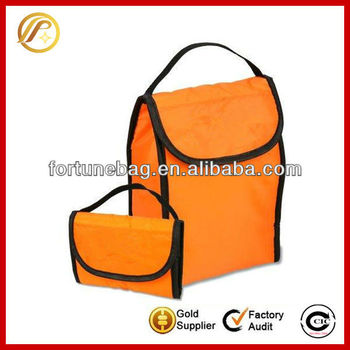 Fold up leisure cooler bag