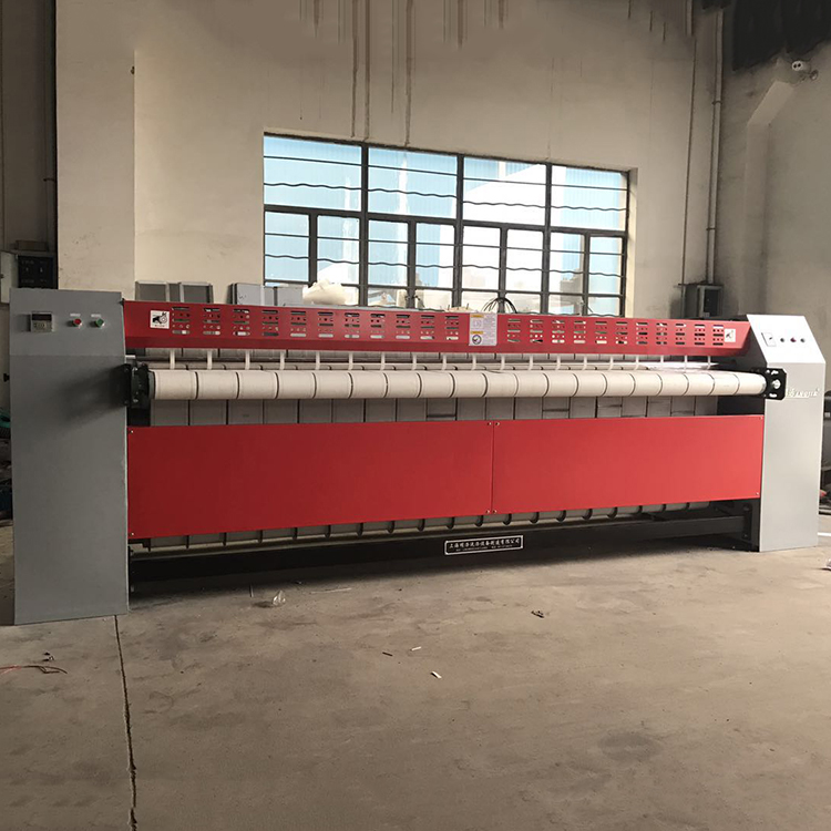 Automatic flatwork ironer, sheet ironing machine with large width