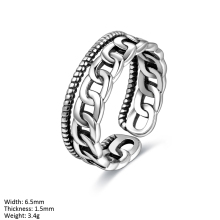 RUA2-030 Factory Direct Cheap Jewelry 925 Silver Wholesale Thai Silver Rings