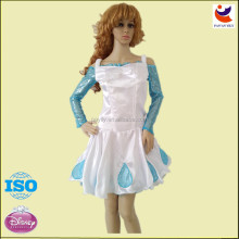 Factory outlet 2014 stain sexy girl adult fancy princess flower girl dress for adult