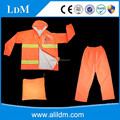 Factory price reflective work raincoats