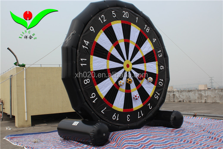 2018 Outdoor commercial PVC air right giant kids inflatable dart board
