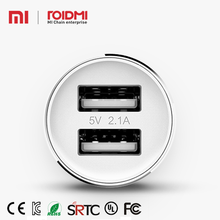 Roidmi 2s Music Bluetooth Usb Type cell phone 2 port quick charge car charger