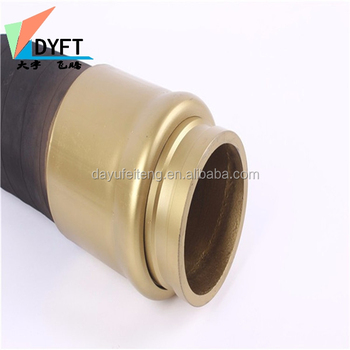 China supplier industrial construction 85 bar 2/4layers wire steels 3m twin sides flange dn50-200mm concrete pump hose/pipe for