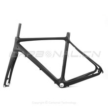 Carbon road bike frame with disc brake, racing frame carbon road frame