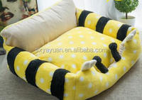 Fashion New Design Polyester Love Cute Foldable Pet Dog House