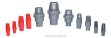 JS Manufacturer UPVC Foot Valve PN10,Plastic UPVC/PVC Foot Valve Thread,Water Pump Plastic UPVC Foot Valve