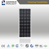 China Cheap 4BB Mono 100w Solar Panel Support Structures For Home