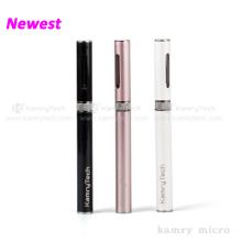Charge 2hours puff on it 300times available 2.0 ohm atomizer kamry micro e cig tanks
