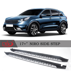 High quality hot sell auto accessories Running board side step for niro 2017