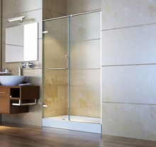 Custom heat-strengthened tempered glass partition heat soaked Shower Room for bathroom