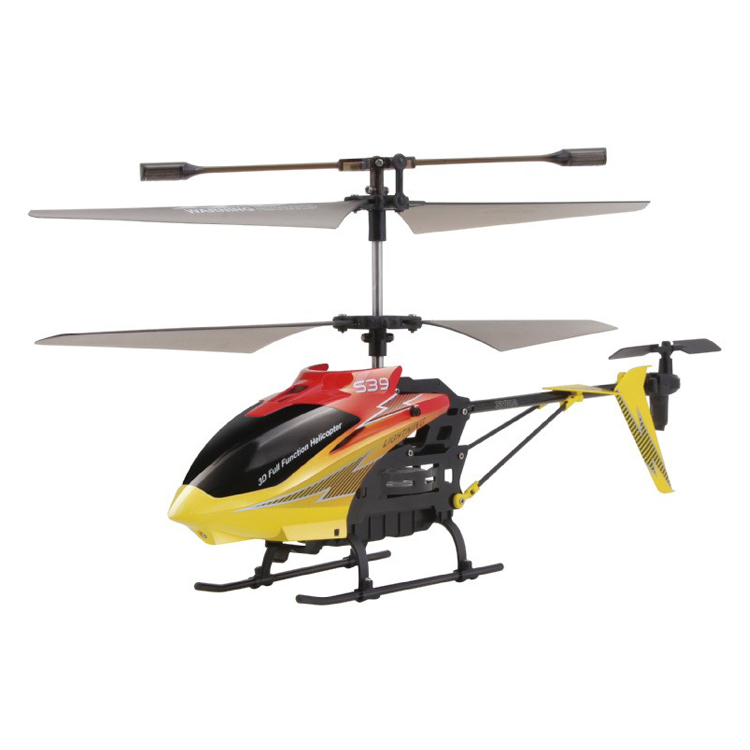 High Quality China Factory 3D Flip Toys Metal Rc Helicopter