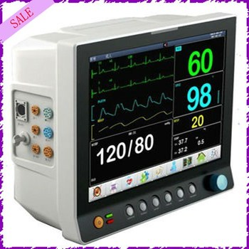 Medical Equipment Six Parameter Monitor 12.1inch Touch Screen Ce ...