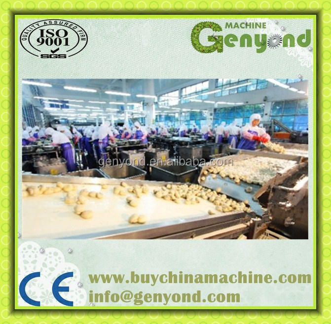 Fully automatic canned mushroom processing plant/ canned vegetables production line
