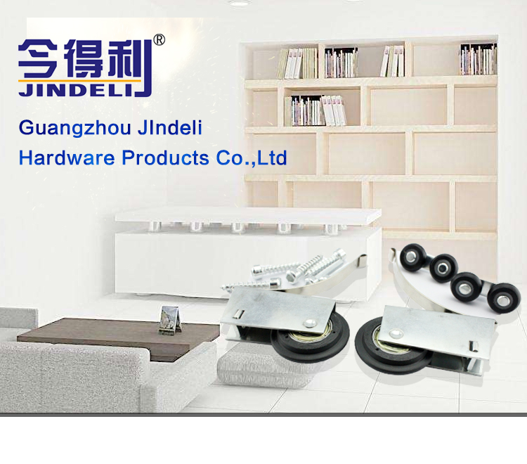 wholesale aluminium bathroom cabinet heavy duty door track and wheels sliding window roller hanging sliding door wheels