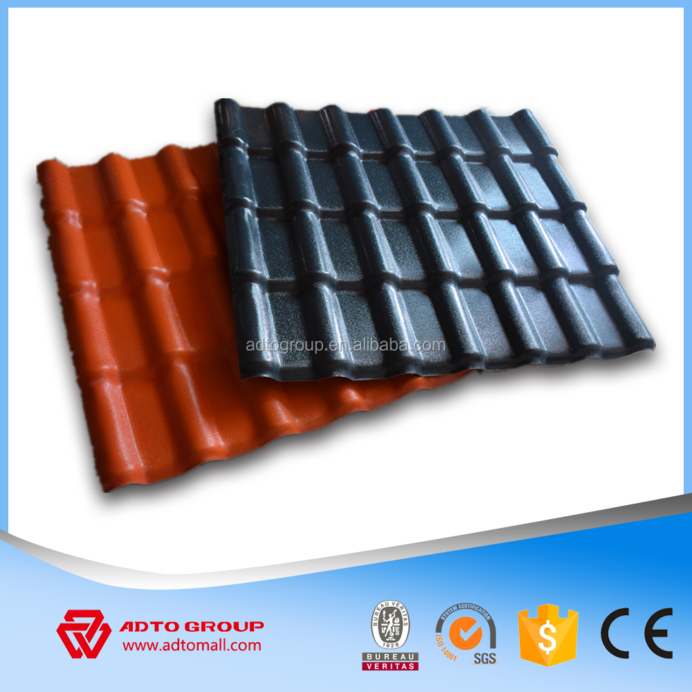 Wholesale spanish roof tiles Synthetic resin roof tiles