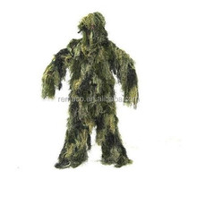 Ultra light woodland camo <span class=keywords><strong>ghillie</strong></span> suit