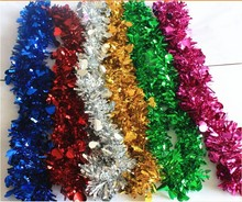 new design for christmas tinsel cheapest made in china