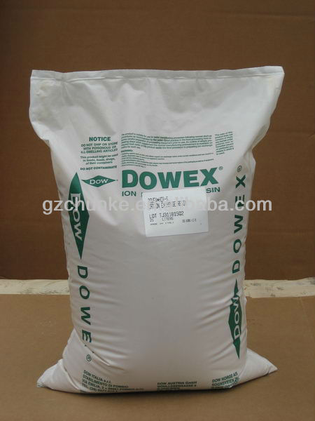 anion exchange resin/weak acid cation ion exchange resin/polystyrene ion exchange