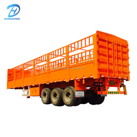 3 Axles 50 Tons Fence Cargo