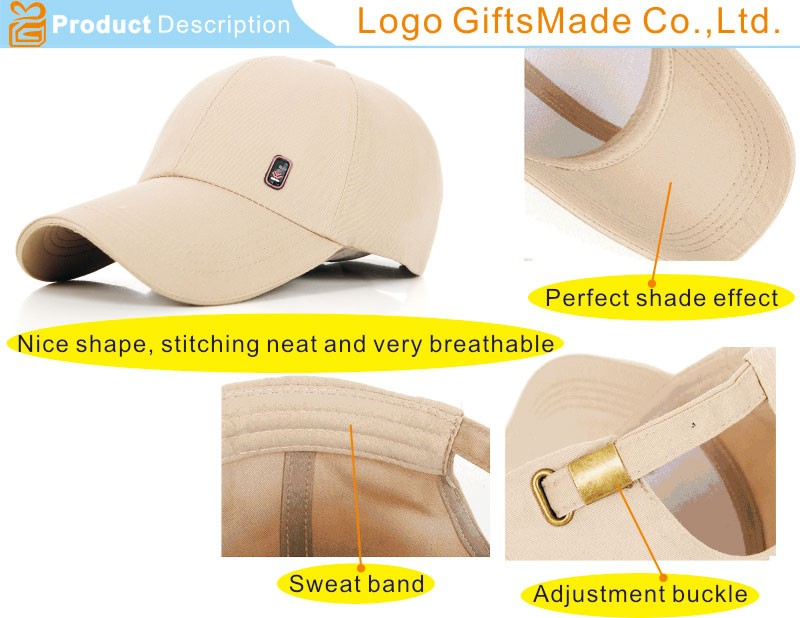 China cotton baseball cap with High-Quality