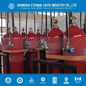 232mm-13.4L-150bar new technology carbon dioxide CO2 gas cylinder ISO 9809 standard high pressure seamless steel