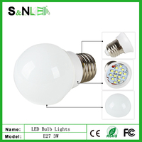 2015 NEW high quality 3w 5w 7w 9w E27 LED bulb light RoSH CE products