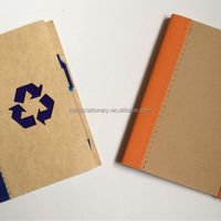 Customize Hardcover Kraft Mini Notepad With