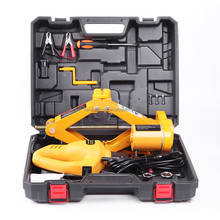 2 tons electric jack car emergency repair tools 12V electric lifting car jack and impact wrench
