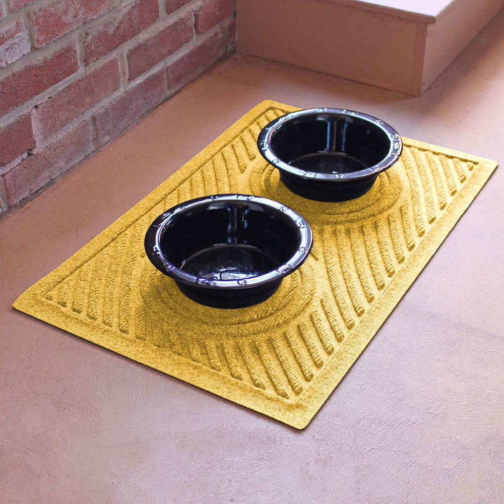 Food Water Feed Bowl Place Pads Mats for Dog Cats Pets Puppy