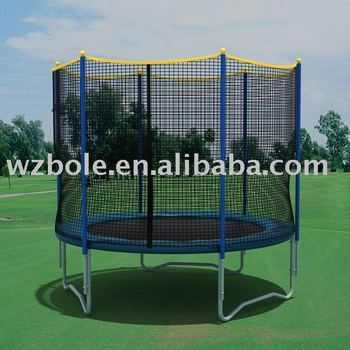 Outdoor Round Trampoline with safety net (8FT~16FT)