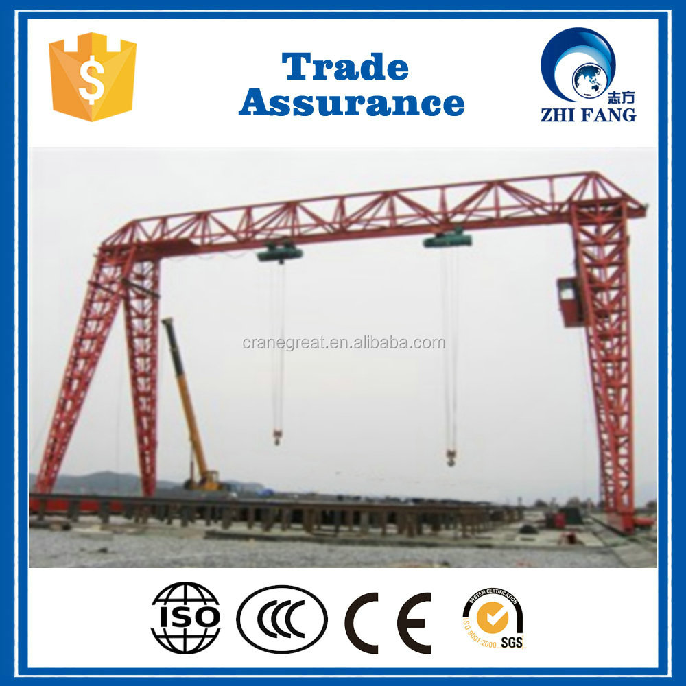 Small Tonnage 3t-16t Outdoor Use Goliath Crane