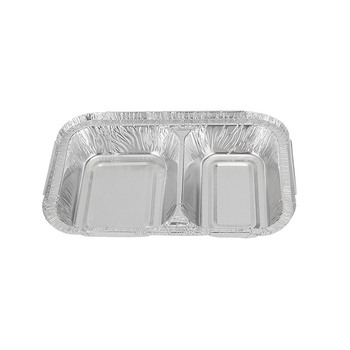 New Arrival Disposable Divided Aluminum Foil Pan Container