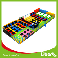 Factory price Outdoor large trampoline park for saleLE.B2.504.024.01