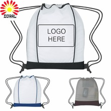 Wholesale Kids Polyester Fancy School Bags Drawstring Bag for Children Use